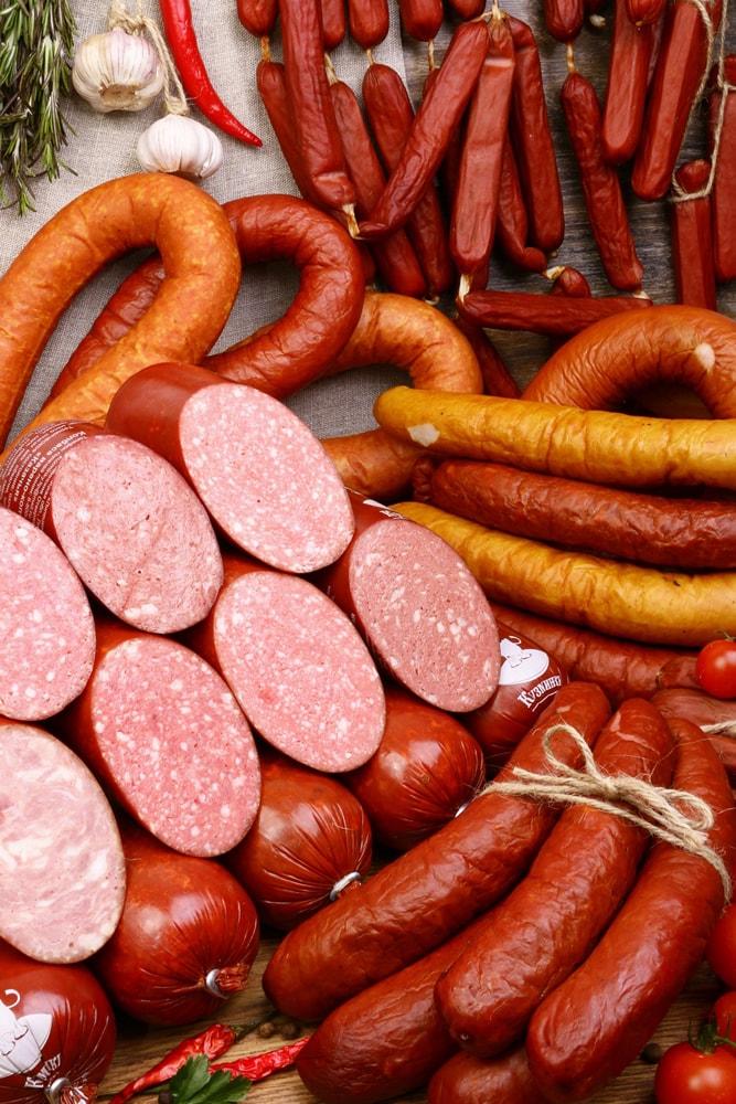сети виды колбасы фото ничем